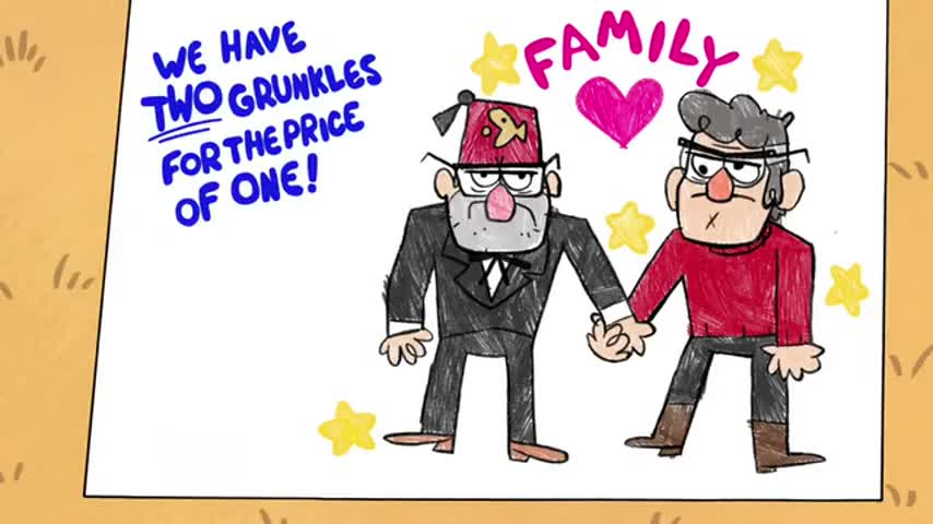 """Quiz for What line is next for """"Gravity Falls """"? screenshot"""
