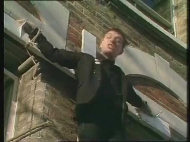 Stop making him paranoid, you slag!