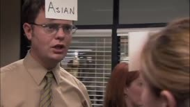 - Shalom, I'd like to apply for a loan. - That's nice, Dwight.