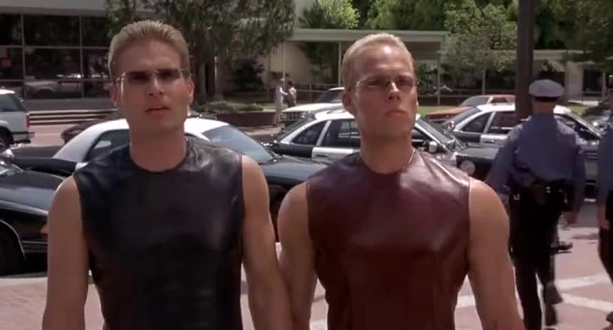 - Who are you guys? - We are the Keepers of the Continuum Transfunctioner.