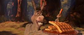 Donkey! Don't eat that!