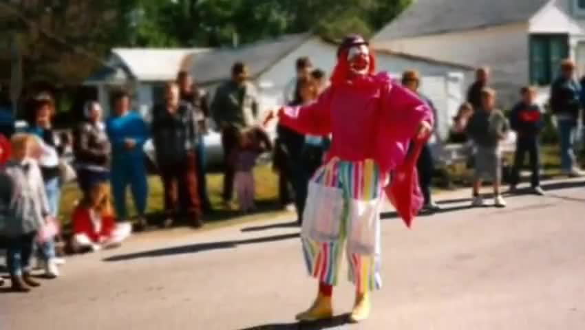 There are four types of clowns-