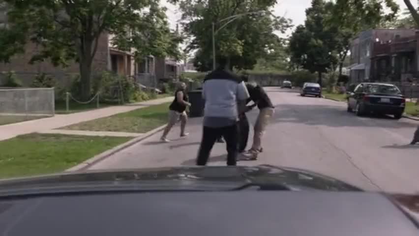 Beat his ass! Yeah, beat his ass!