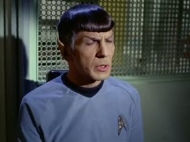 Clip thumbnail for 'Don't just stand there jawing, Spock. You and Dr. Wallace get cracking!