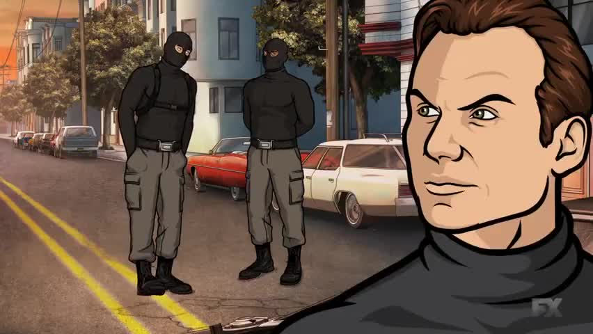 And don't be shitty, Archer, you dick.