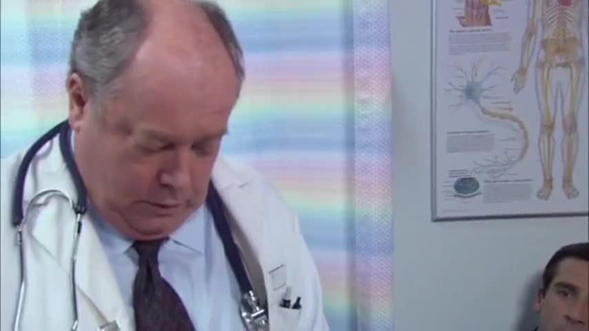 That's what she said. That's my joke. Damn it, Dwight.