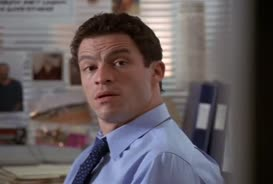 Where's the love, McNulty? Show me some fucking love.
