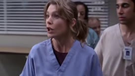 Look at Meredith, isn't she sad, pathetic and heartbroken?