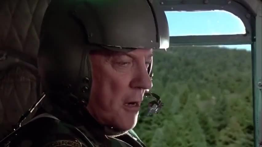 General, with all due respect, fuck you, sir.