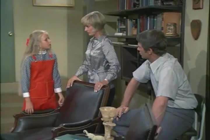 Marcia always makes such a big deal out of everything.