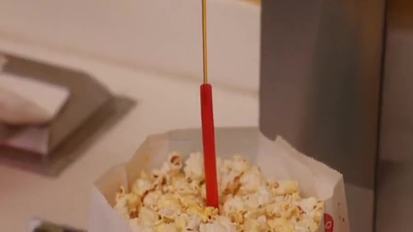 This way, all the popcorn gets nutrition on it.