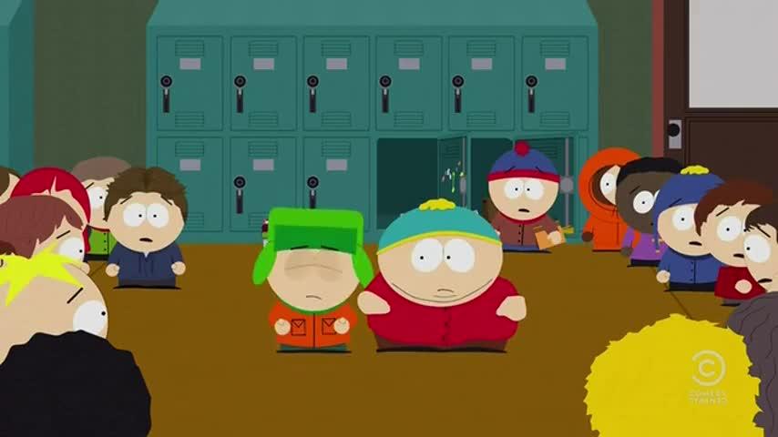 Yummy, yummy. Thank you, Cartman.