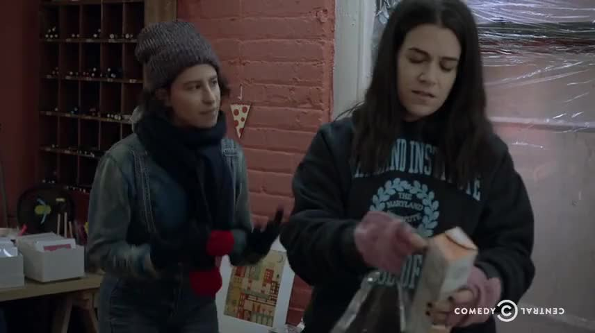 Yarn | I am for real rich, not (BLEEP) rich  ~ Broad City