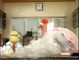 Notice how easy it is, now, for Beaker to study that germ.