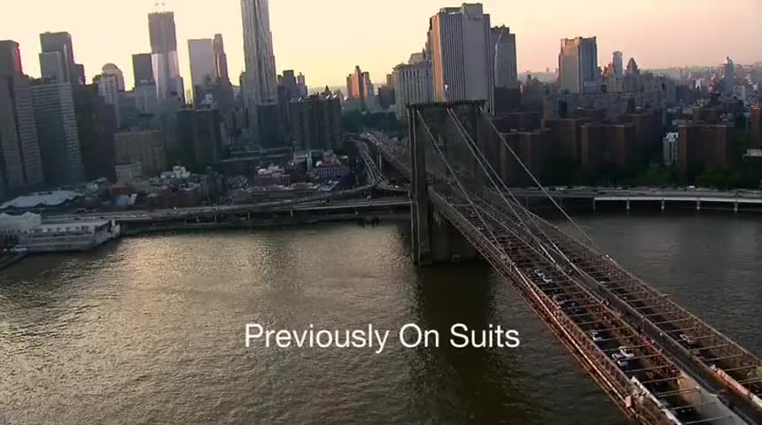 Previously on... Suits