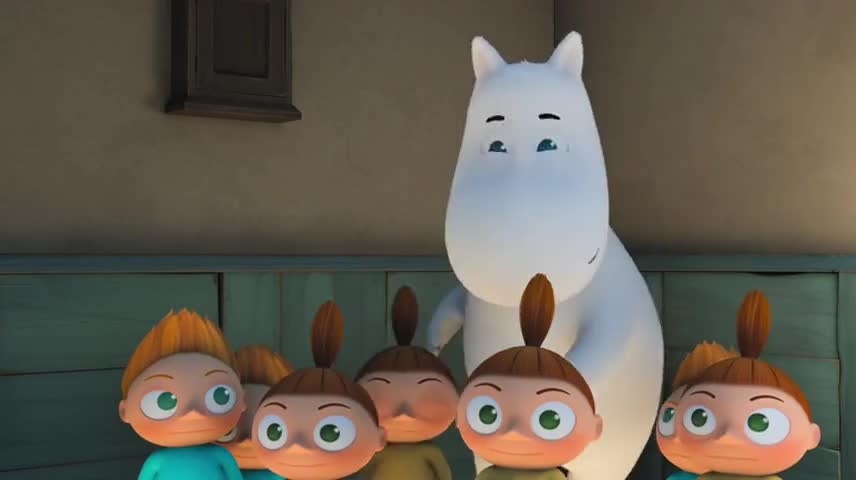 Hello there, little one. I'm Moomintroll.