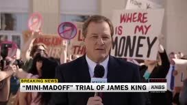 A verdict is expected today in the mini-Madoff trial of James King.