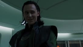 LOKI: There's not many people who can sneak up on me.