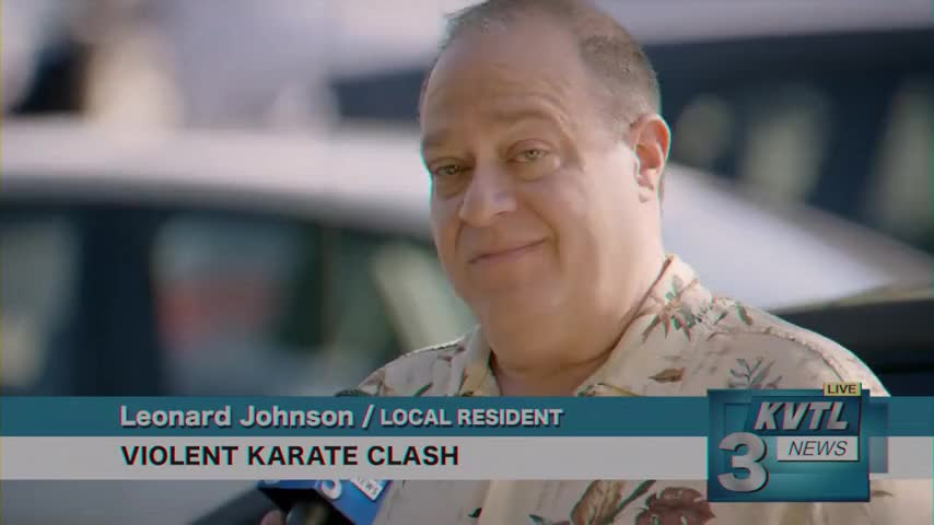 I thought karate died out in the '80s.
