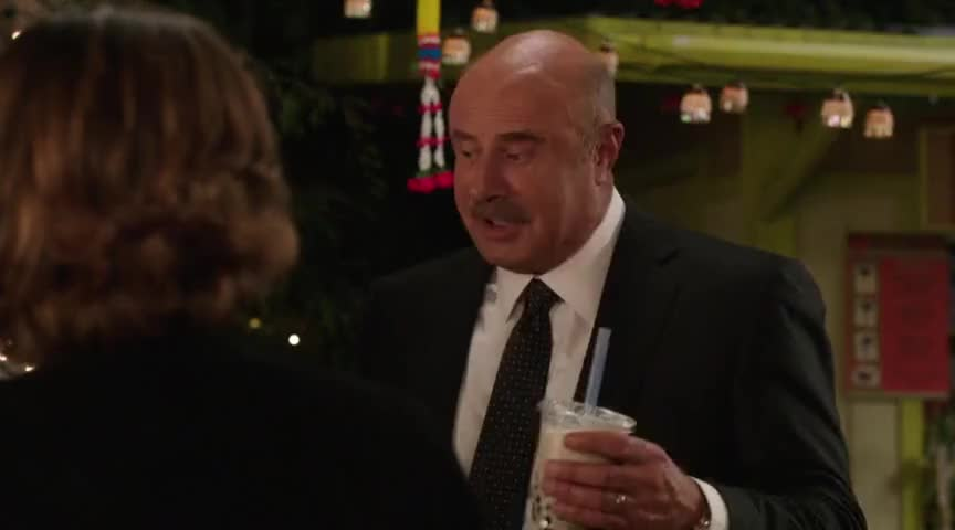 Even Dr. Phil has got to have his boba.