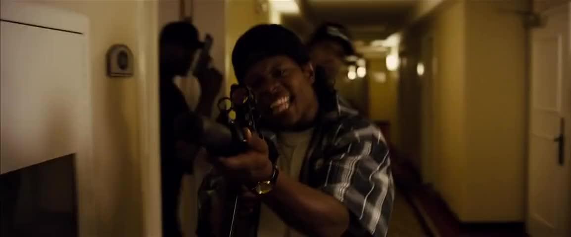 I said she got a motherfuckin' dick in her mouth, nigga!