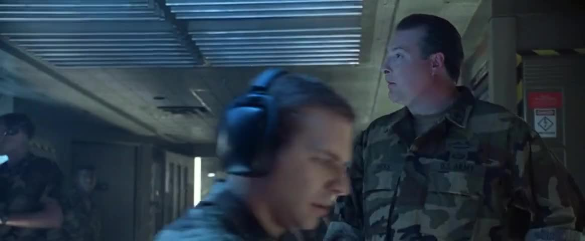 Lieutenant Rodgers, are those F-18's still in the air?