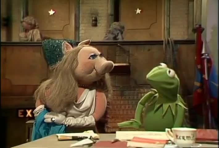 "Did you call me ""my dear,"" Kermit? Indeed I did."
