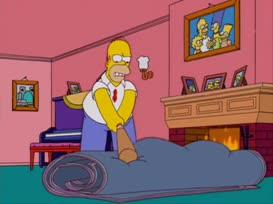 Beat the lumps. Beat the lumps. BART: Ay, caramba!