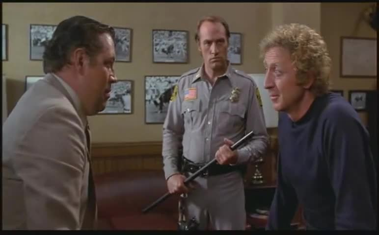 -Has Grossberger been farting on you? -Settle down, Wilson.