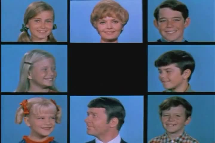 ♪ That's the way they all became the Brady Bunch ♪