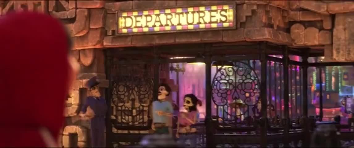 DEPARTURES AGENT: Next family, please.