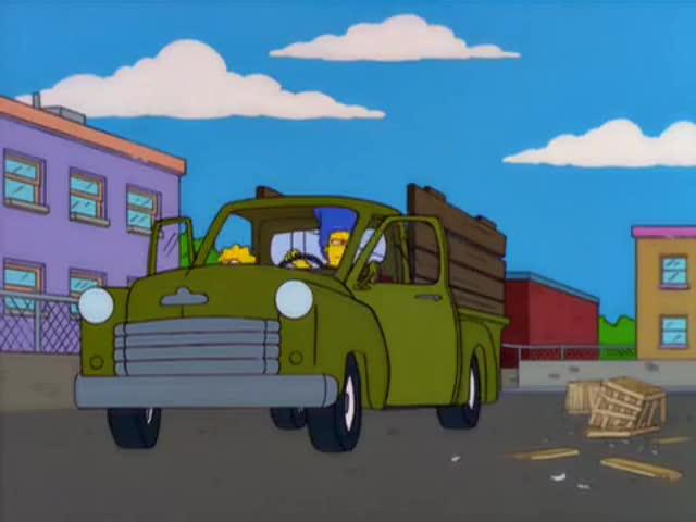 "Somebody done ""stolded"" my wheels."