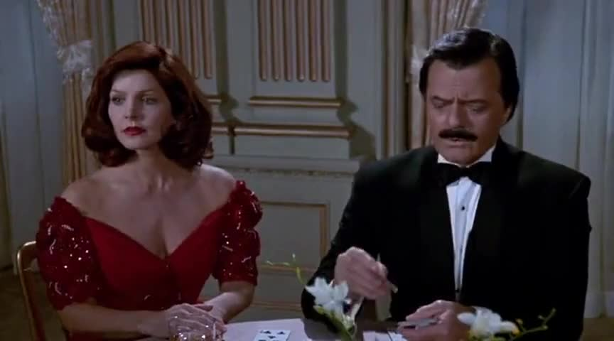 - Do you gamble, Lieutenant? - Every time I order out.