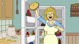 - Food fight! - Ooh!