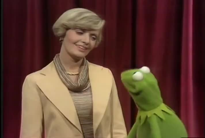 Oh, you know I did, Kermit, especially our love scene. Whoo!