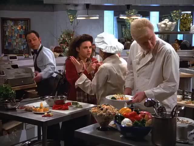 You got that pasta primavera? Let's go!