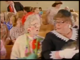 All the way down to the amen pew where sat Sister Bertha better-than-you