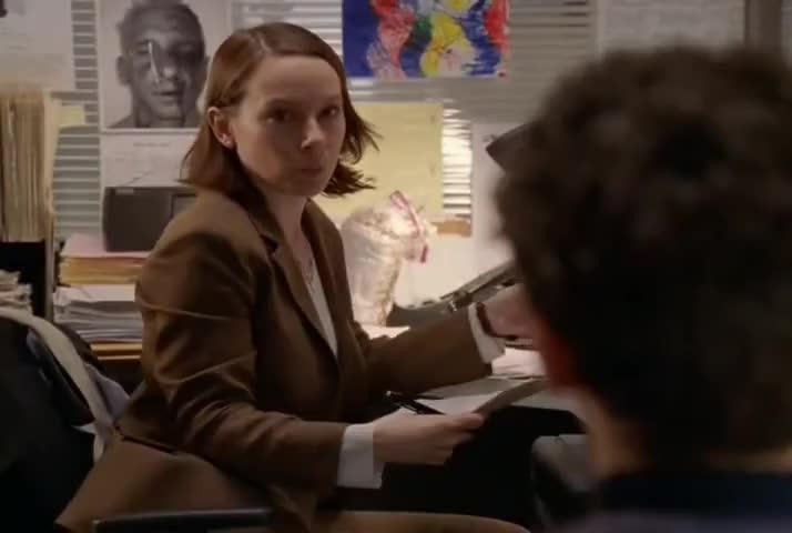 -In what language? -Crime scene?