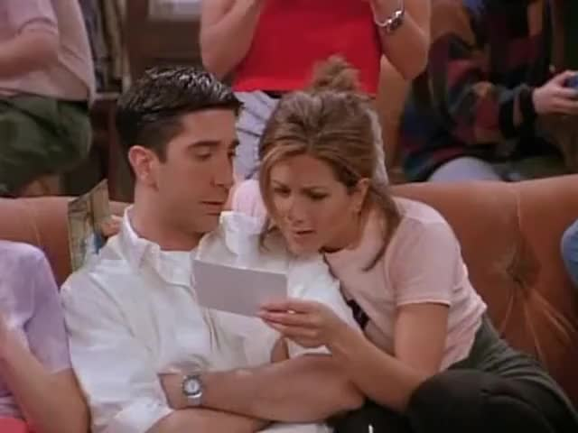 Clip image for 'Ross was in love with Rachel since forever.