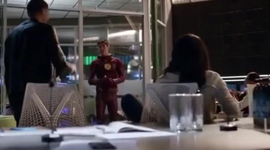 - The Flash. - Kid Flash.