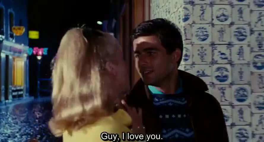 -Guy, je t'aime.