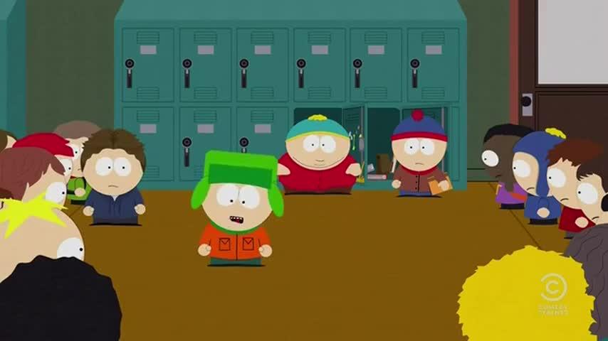 I love Cartman's farts.