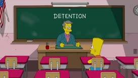 Five weeks detention.