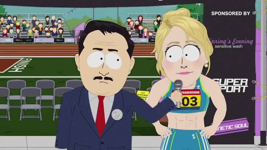 She's not exactly your average trans athlete.