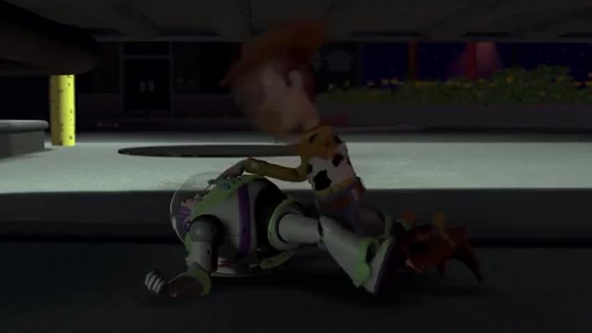 Buzz... Buzz... Buzz Lightyear to the rescue.
