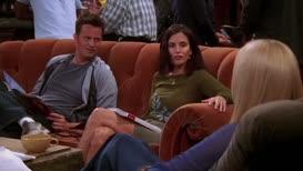 [IN NORMAL VOICE] Chandler gets pedicures.