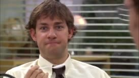 Today is Thursday, but Dwight thinks that it's Friday.