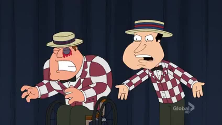 What the hell, Peter?! You shot him in the eye!