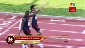 ...or synchronized running.