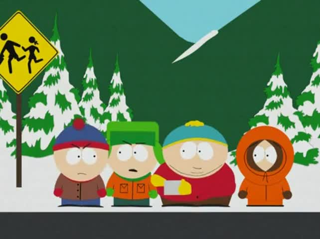 Because that makes Butters gay now!